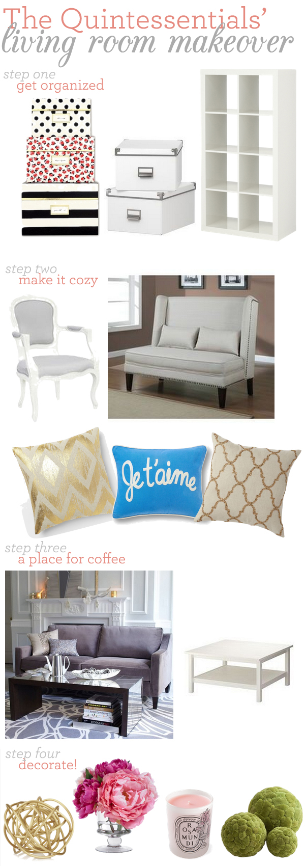 the quintessentialsliving room makeover inspiration the