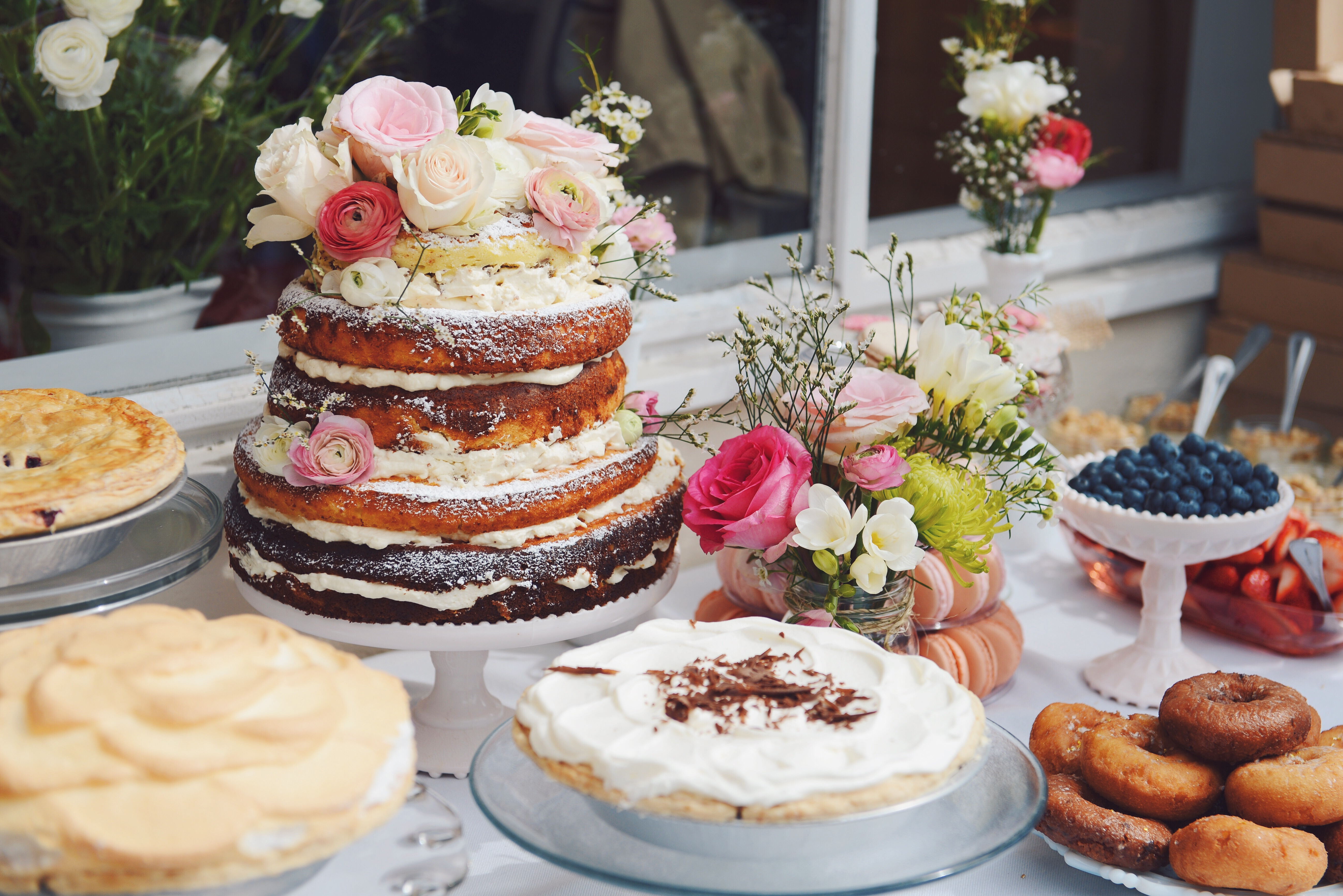The Quintessentialsour pink & gold shabby chic baby shower The